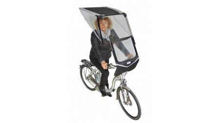 Protection pluie pour le cycliste pour vélo électrique
