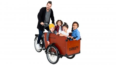 Triporteur Babboe Big enfant Nexus 7