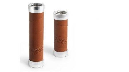 Poignées Brooks Slender longueur 130 mm ( jeu de 2),miel