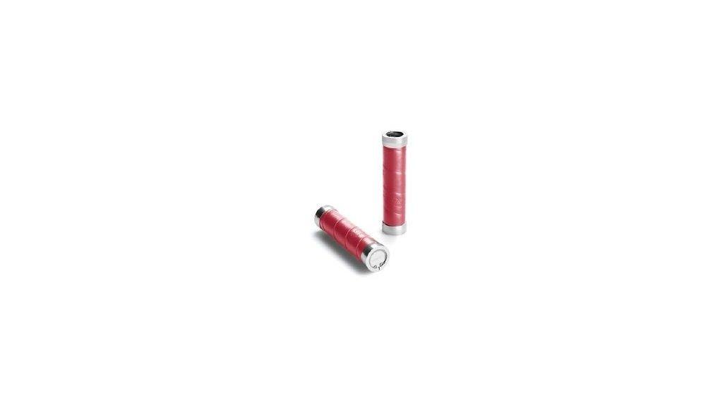 Poignées Brooks Slender longueur 130 mm ( jeu de 2),rouge carmin