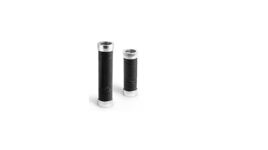Poignée Brooks Slender longueur 100 mm, noire