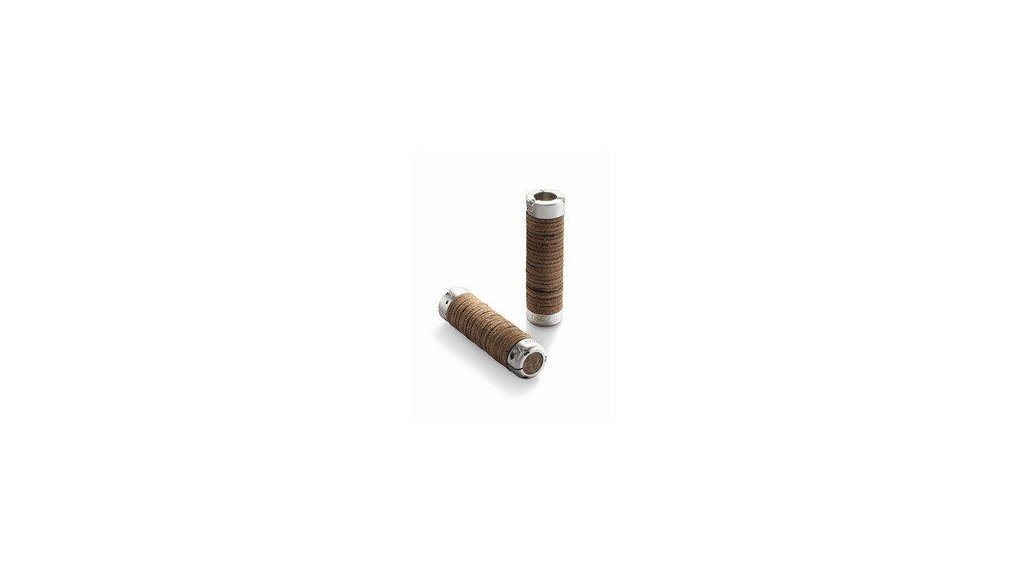 Poignées cuir Brooks marron (une longue, une courte)