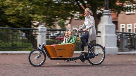 Biporteur Babboe City avec boite Nexus 7 vitesses