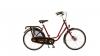 Vélo hollandais Klein24 avec roues de 24 pouces cadre rouge