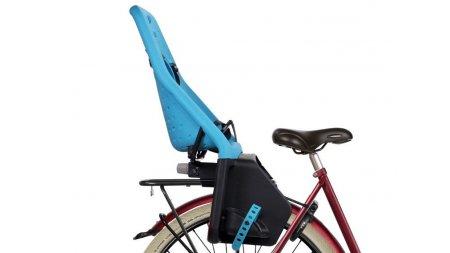 Siège enfant Yepp Maxi bleu (vélo avec porte-bagage Yepp)