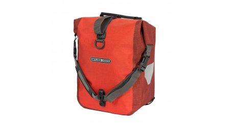 Deux sacoches avant Ortlieb Roller Plus,rouge