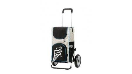 Chariot 100% isotherme,fixation aux haubans
