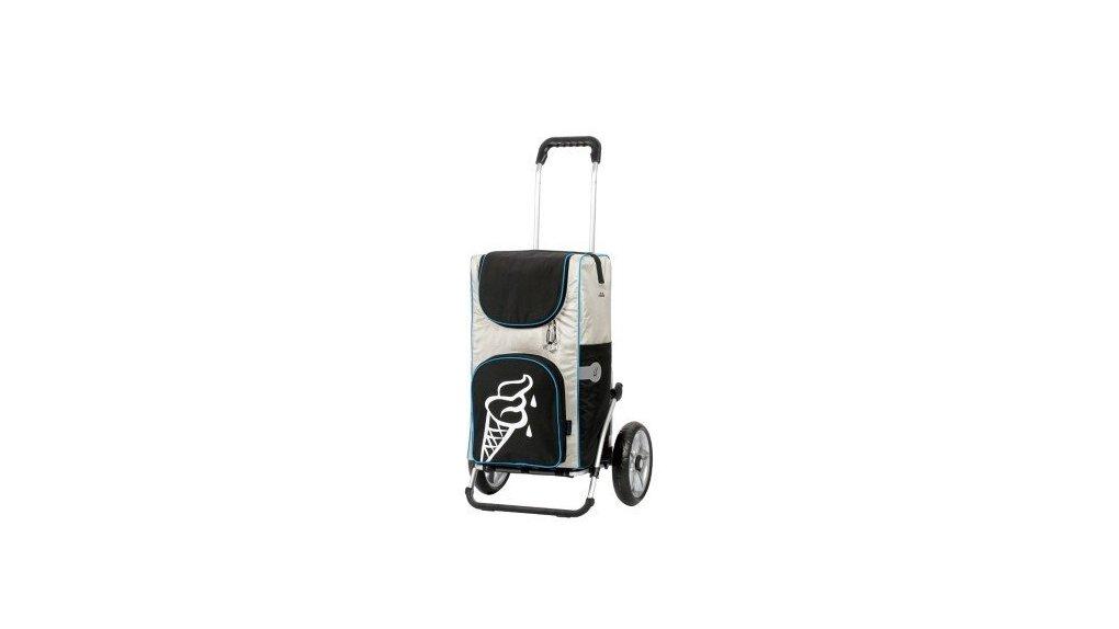 Chariot 100% isotherme, fixation aux porte-bag.