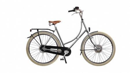 Vélo Amsterdam Air Oma Premium argent