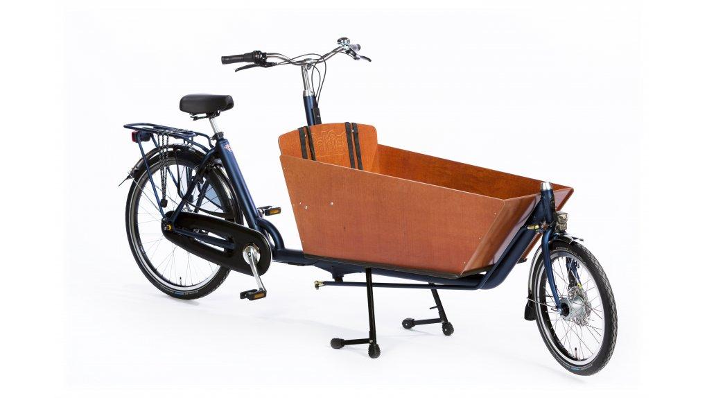 Biporteur long Bakfiets.nl, jusqu'à 3 enfants dans le coffre
