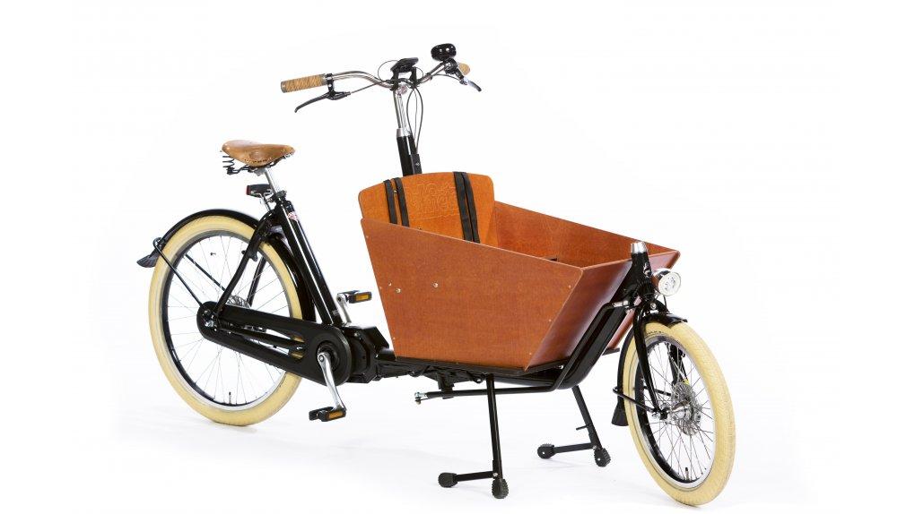 Biporteur long E-Step sur coussin d'air ( Bakfiets.nl )