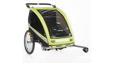 Poussette et remorque de vélo pour un ou deux enfants