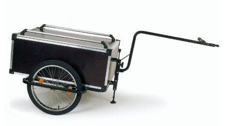 Remorque de vélo capacité 175 litres ( fixation tige de selle )