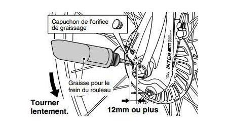 Graisse pour frein roller Shimano (100 g)