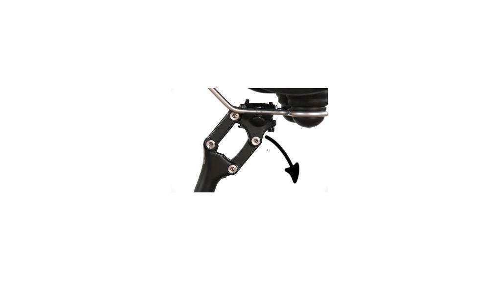 tige de selle suspendue de vélo à parallelogramme