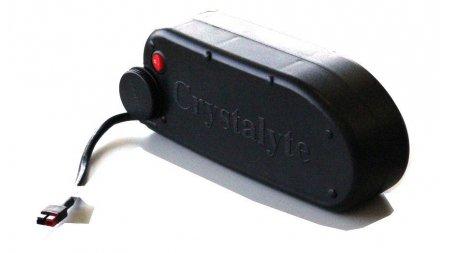 Batterie bidon 375 Wh (36V 10.4 Ah Li-ION) sur rail