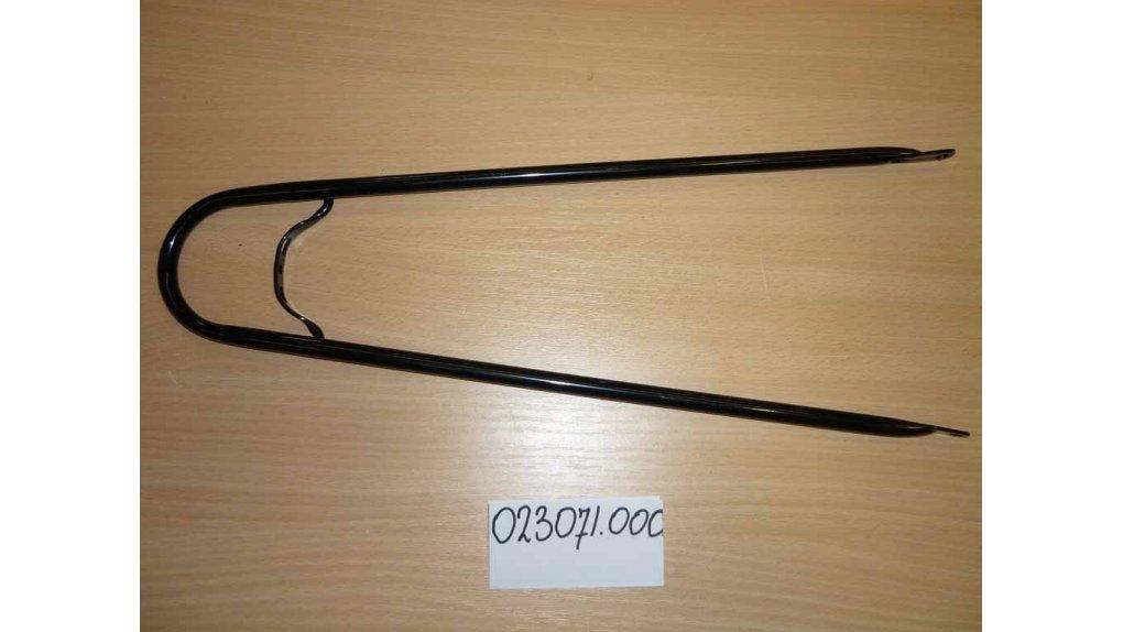 Support de garde-boue arrière 63 ou 65 mm ou bois noir brillant