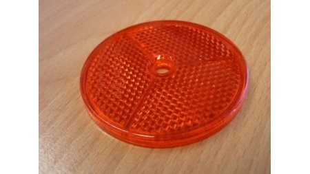 Catadioptre rond Rouge (triporteur)