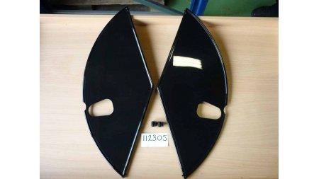 Pare-jupes 1881 noir brillant