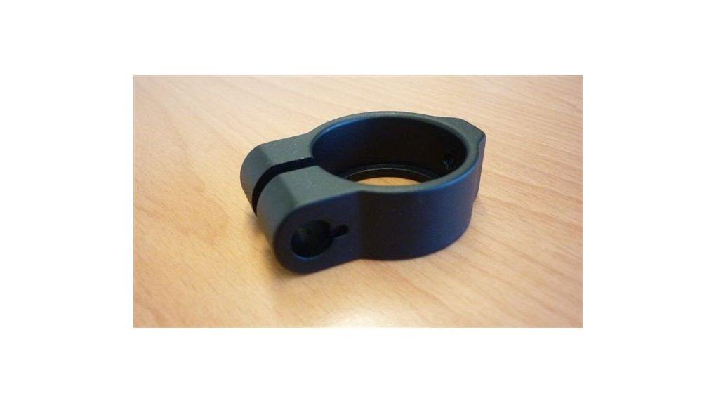 Collier noir de tige de selle pour vis M8 (sans écrous)