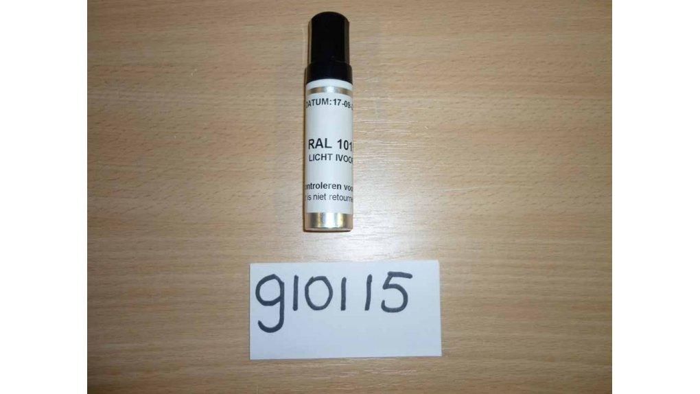 Bombe de retouche de peinture crème RAL 1015