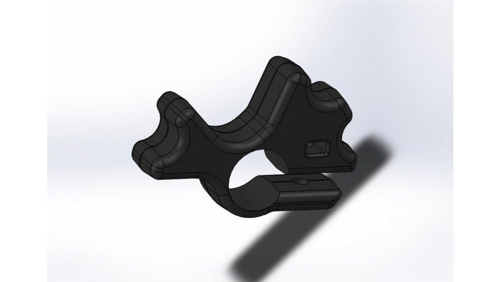 Protection sélecteur vitesse noir