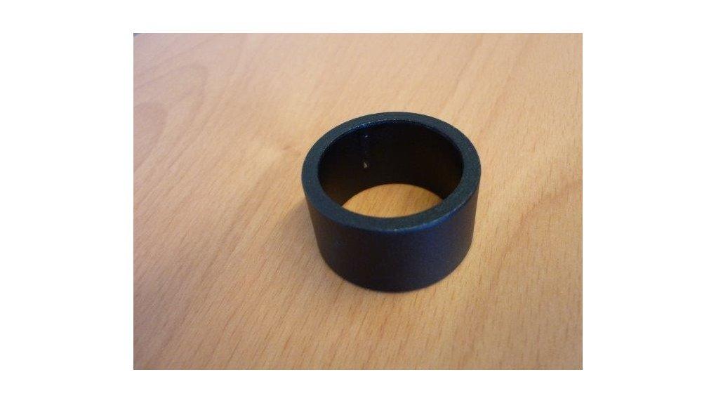 """Entretoise noire 1 """"1/8 hauteur 20mm Ø29"""