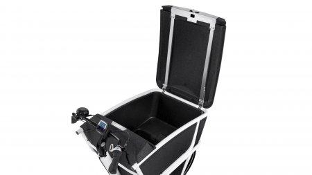 Couvercle verrouillable pour caisse de biporteur électrique Urban Arrow Shorty