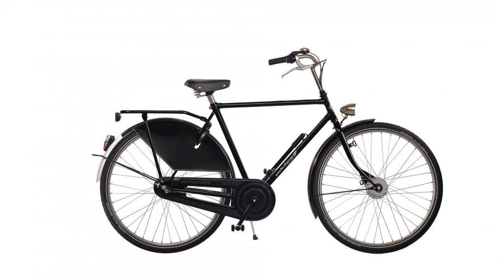 vélo hollandais cadre homme Amsterdam Air avec selle vintage