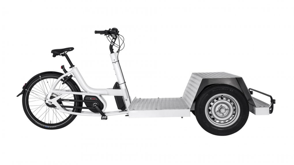 Triporteur électrique Urban Arrow Tender 1000 Flatbed Plus