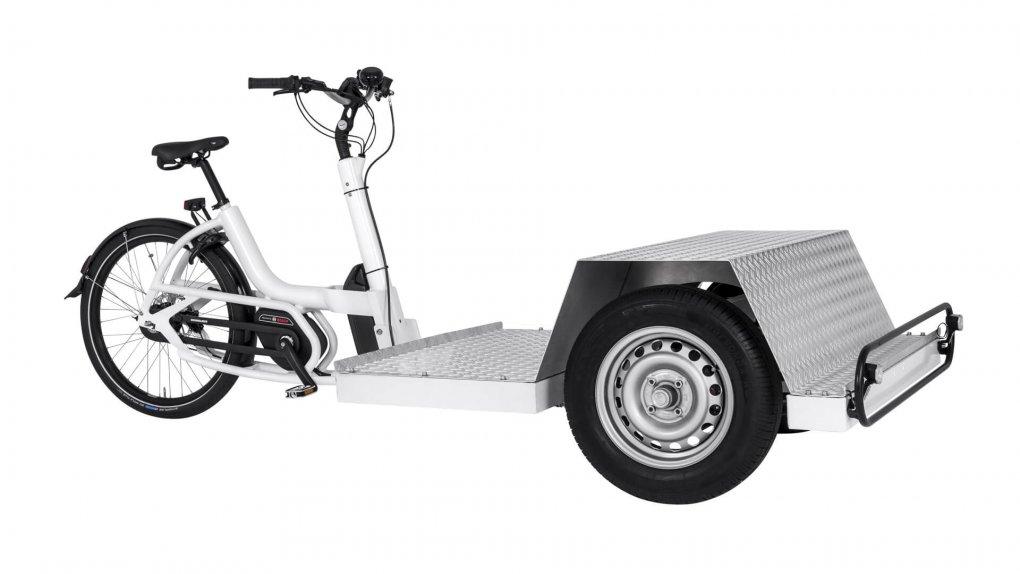 Triporteur électrique Urban Arrow Tender 1000 Flatbed Plus