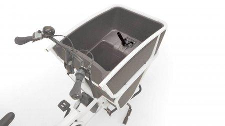 Adaptateur pour petit siège sur biporteur électrique Urban Arrow Shorty