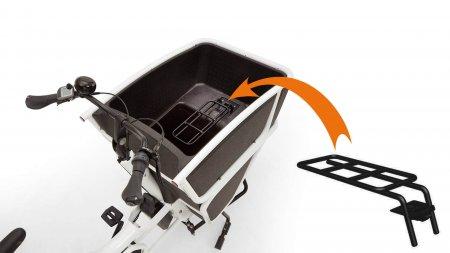 Adaptateur pour grand siège sur biporteur électrique Urban Arrow Shorty
