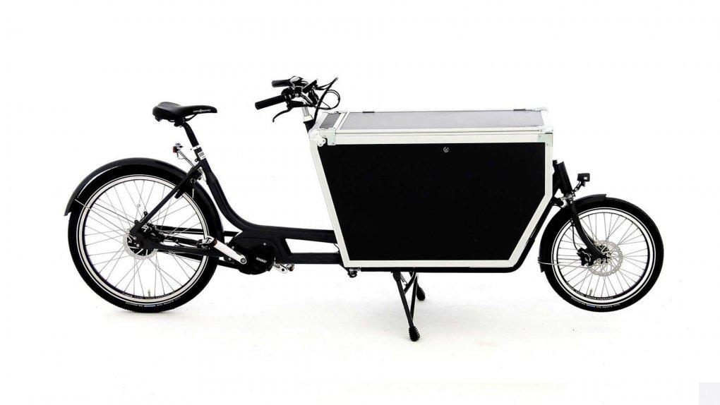 Biporteur Babbo Pro Flightcase moteur pédalier