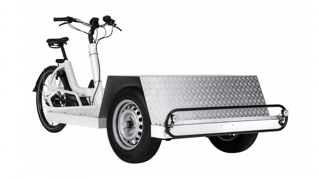Triporteur électrique Urban Arrow Tender 1500 Flatbed Plus