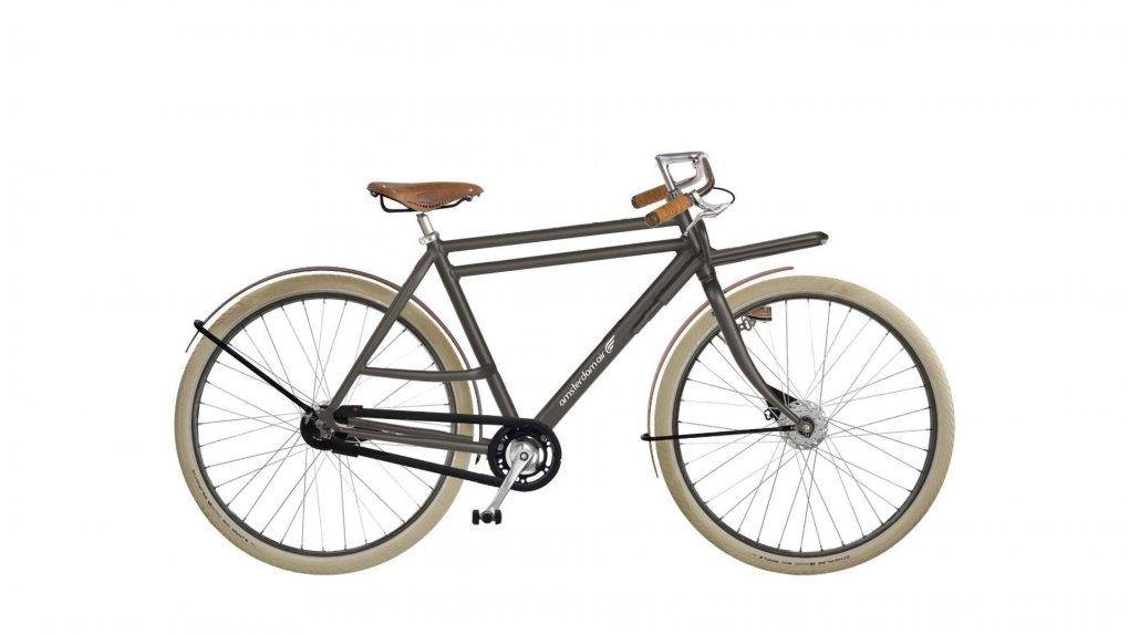 Ce vélo hollandais Double Dutch 1903 avec cadre alu double barre est léger et capable de porter des charges élevées