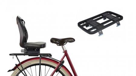 Pack Siège enfant Yepp Junior + adaptateur pour vélo avec porte-bagage classique