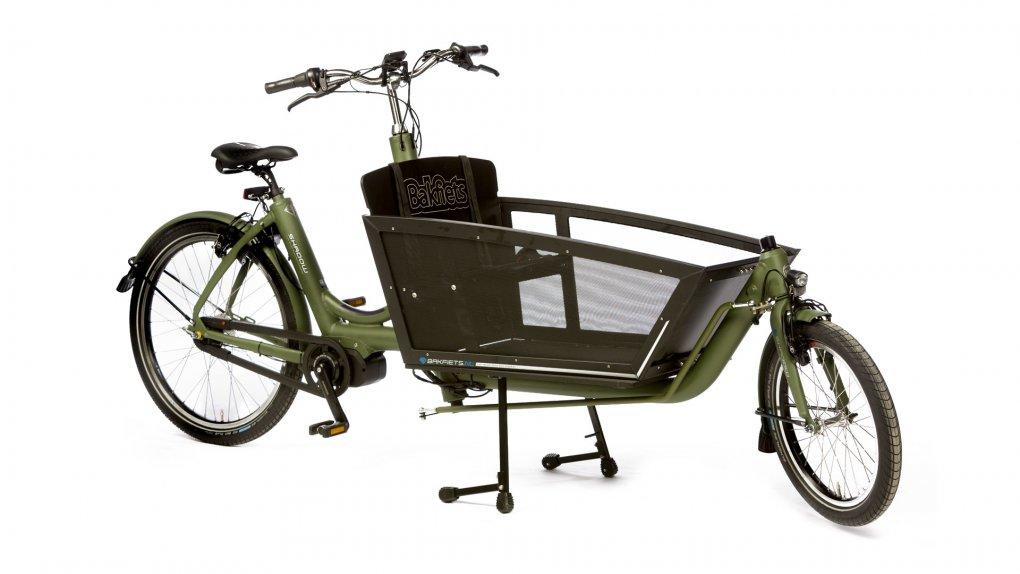 Biporteur électrique aluminium Shadow pour transporter jusqu'à 4 enfants