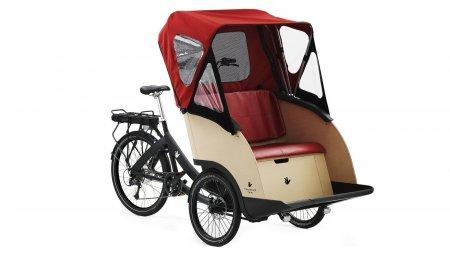 Triporteur électrique Triobike E-Boxter, moteur arrière