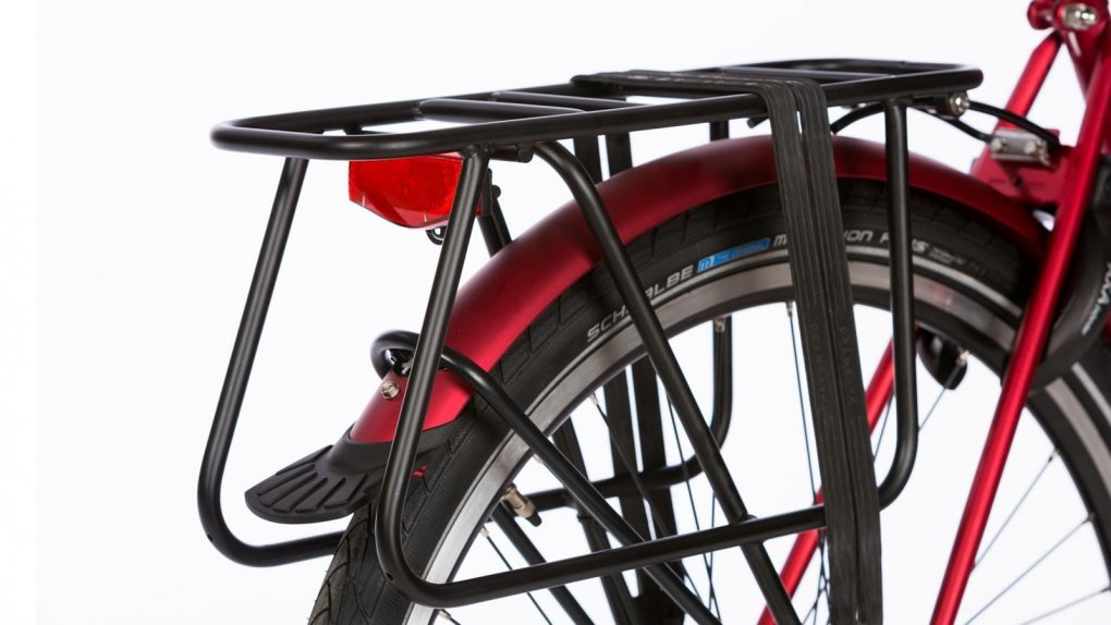 Porte-bagage arrière rallongé compatible sièges Yepp,capacité 60 Kg,noir