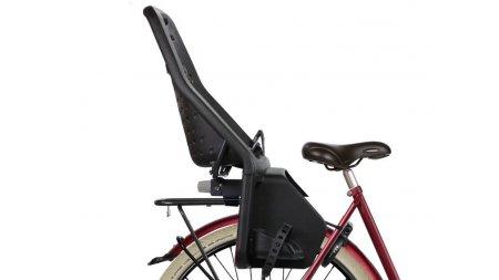 Siège enfant Yepp Maxi noir (vélo avec porte-bagage classique)