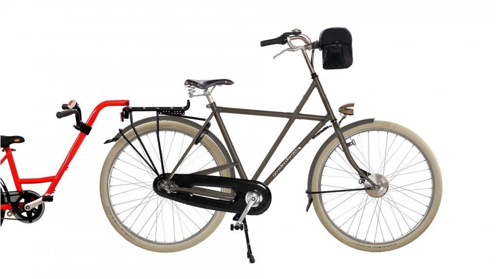 Vélo électrique Vader Big Apple,batterie avant (2016)
