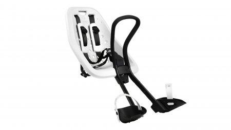 Siège bébé avant Yepp Mini blanc, 9 mois à 3 ans