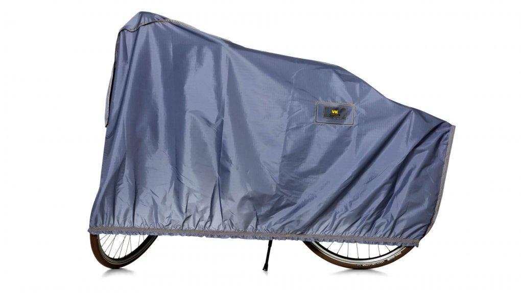 Housse de protection pour vélo, coloris argent
