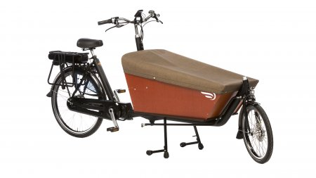 Protection Tweed pour biporteur Bakfiets.nl long