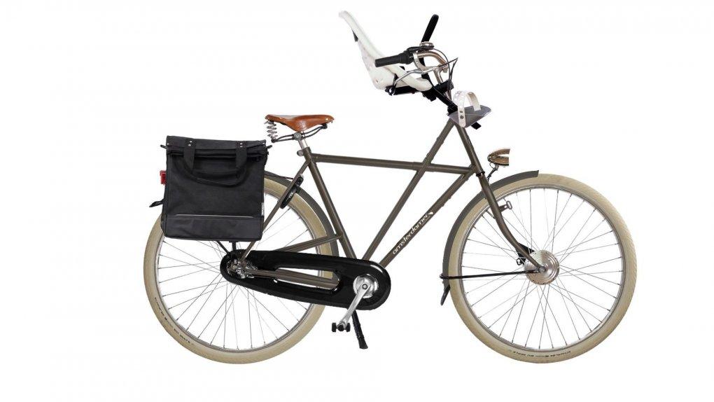 """Vélo électrique Vader Big Apple, batterie arrière, avec options (cliquez sur """"configurez"""" pour plus d'informations)"""
