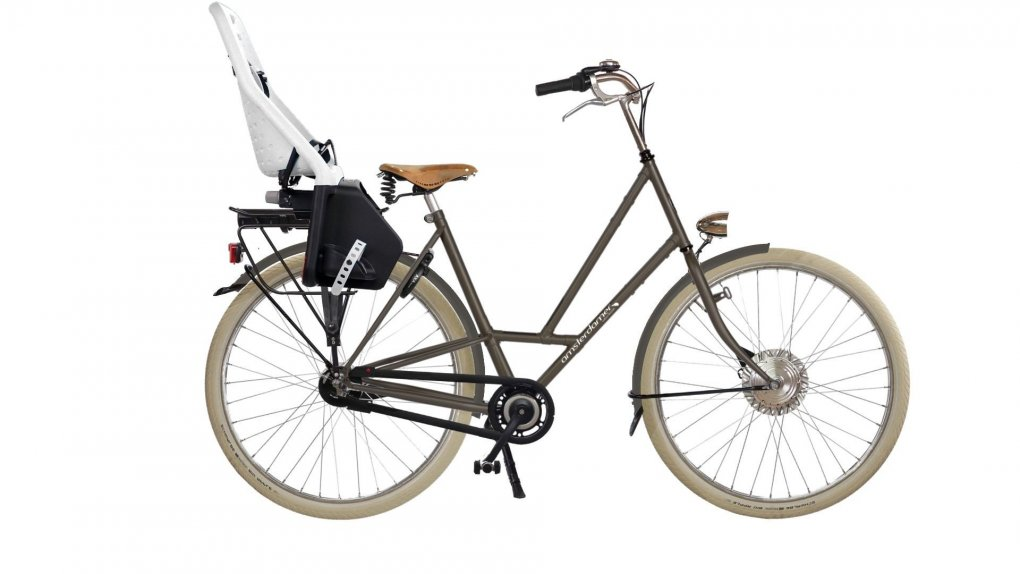 Vélo électrique Moeder Big Apple,batterie arrière (2016)