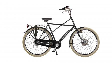 vue arrière du cadre cruciforme du vélo cross high