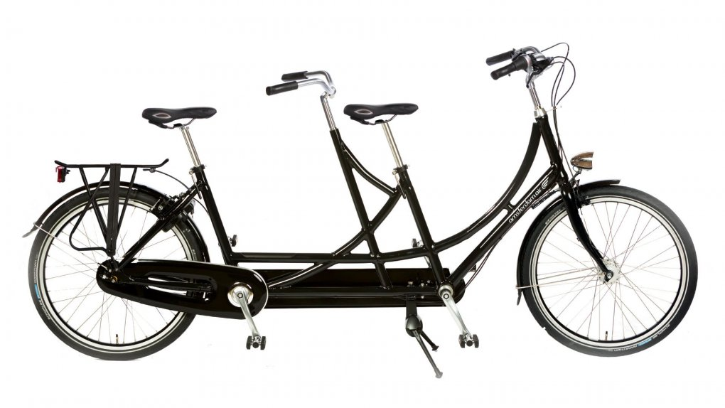 Tandem confortable 1881 avec sellerie en cuir Brooks optionnel