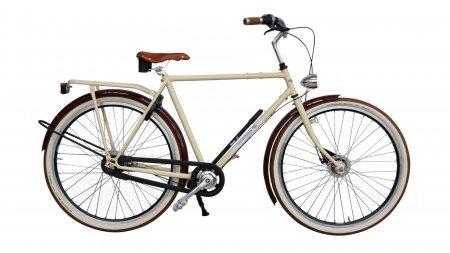 Vélo unique Amsterdam Air Opa Crème & Cassis